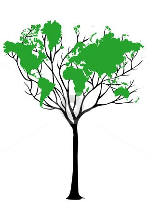 The leaves on this tree form the map of the world tattoos the leaves on this tree form the map of the world gumiabroncs Choice Image