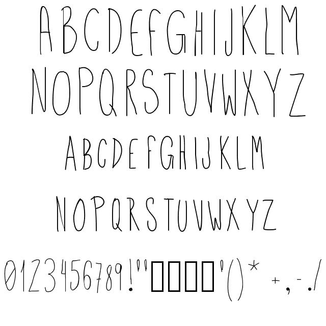 Uper Font