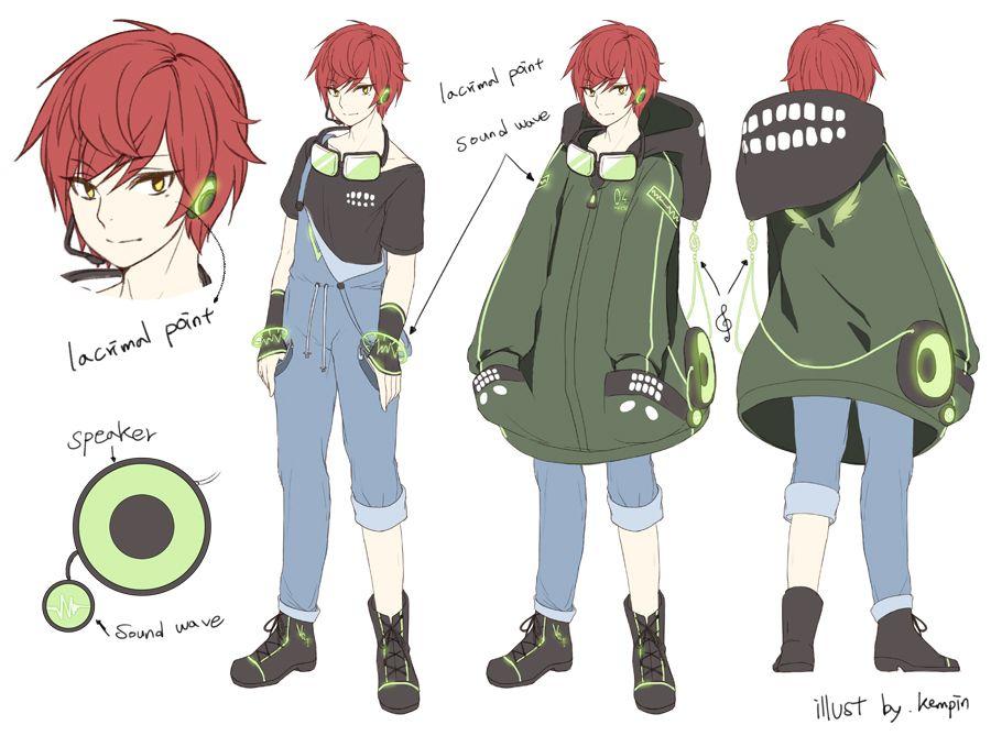 Anime Boy Character Design : Kempin zerochan anime cartoons comics etc
