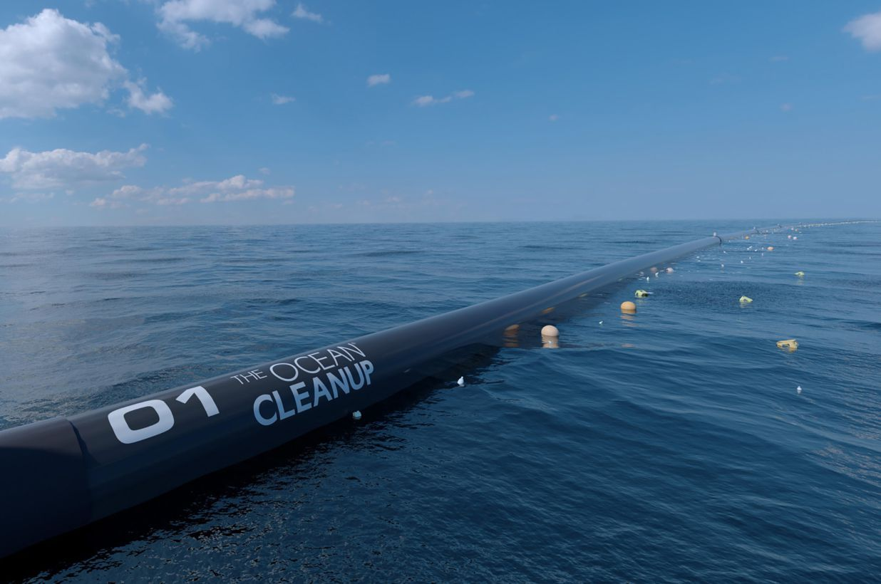 First Ever Ocean Plastic Cleaner Will Tackle Great Pacific
