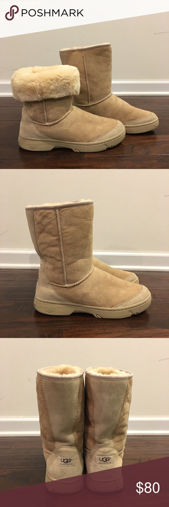 dac405cb265 AuthUGG Ultra Revival Genuine Shearling Short Boot Authentic UGG ...