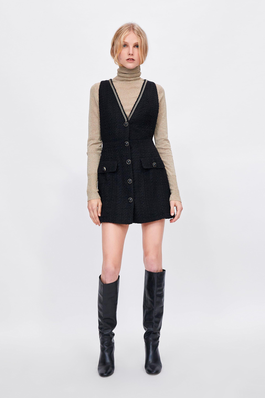 6c2103c38234 TWEED DRESS from Zara
