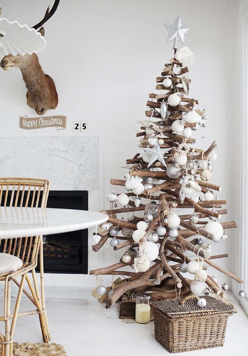 Sapin en bois flotté à fabriquer et plus de 50 idées originales ...