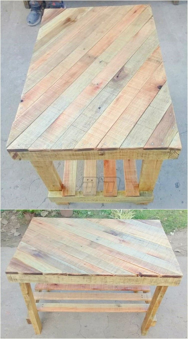 Idealistic Pallet Wood Creative Projects Wood Pallets Wood Pallet Projects Pallet Wood Coffee Table