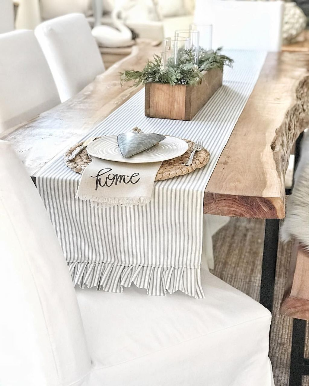 60+ Dining Table Inspirations for DIY Farmhouse Concept
