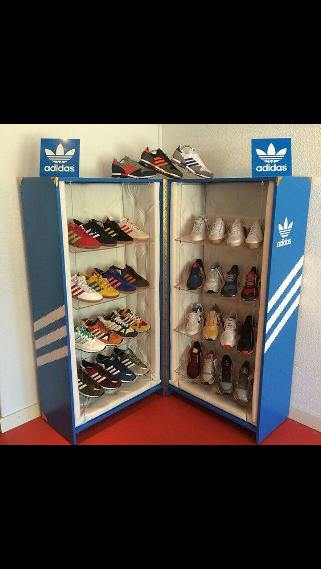 Pin by Mayra Florez on Adidas | Shoe box diy, Shoe box storage ...