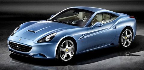 Image result for light blue ferrari | Ferrari california ...