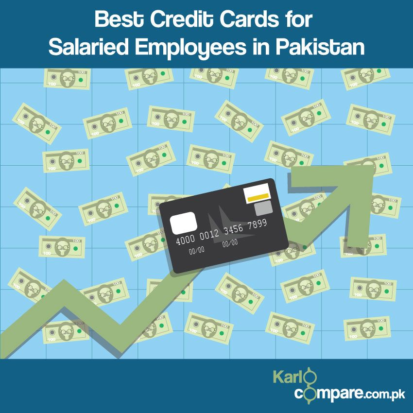 Best credit cards for salaried employees in pakistan