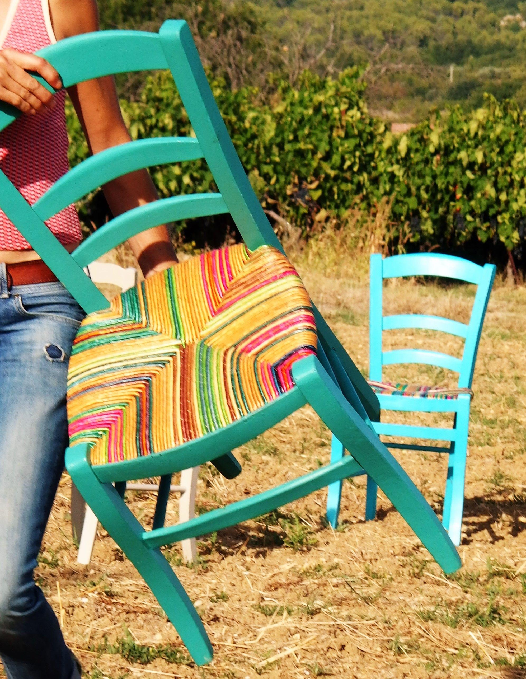 Paille De Seigle Chaise Ancienne Herbe Chaises Couleur