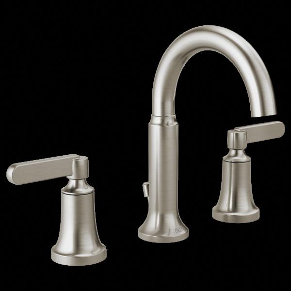 54 Premium Modern White Bathroom With White Cabinets Ideas In 2020 Widespread Bathroom Faucet Bathroom Sink Faucets Brushed Nickel Bathroom Sink Faucets