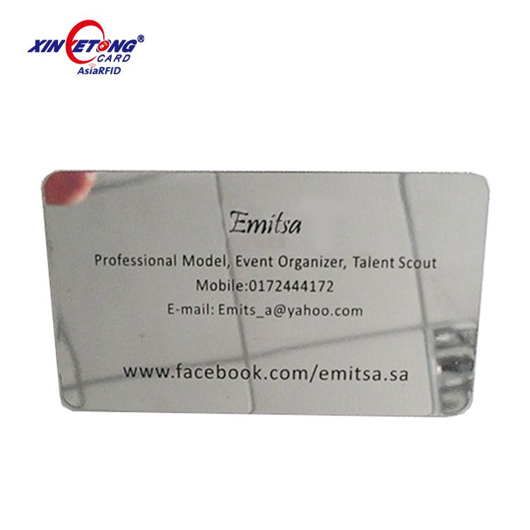 Mirror finish stainless steel business cards/Metal cards (China ...