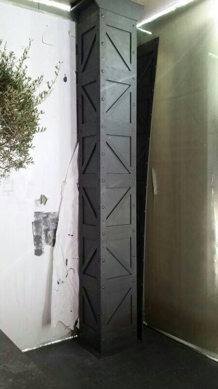 Columna Hierro Decorativa Wall Prints Design Wall