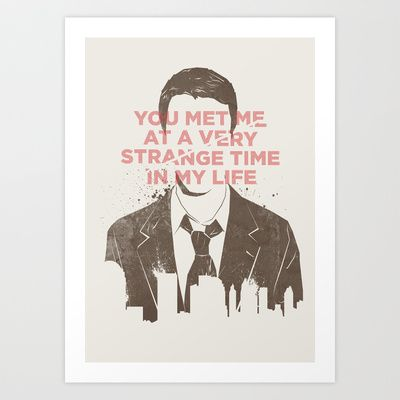 Strange Time Art Print by Koning