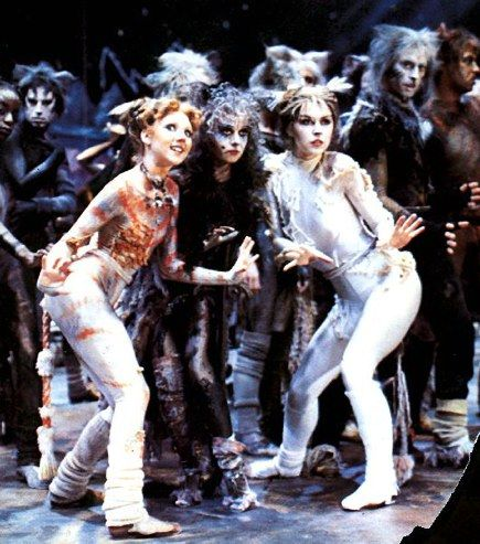 Cats Original London Cast Bonnie Langford Cats Movie Fashion
