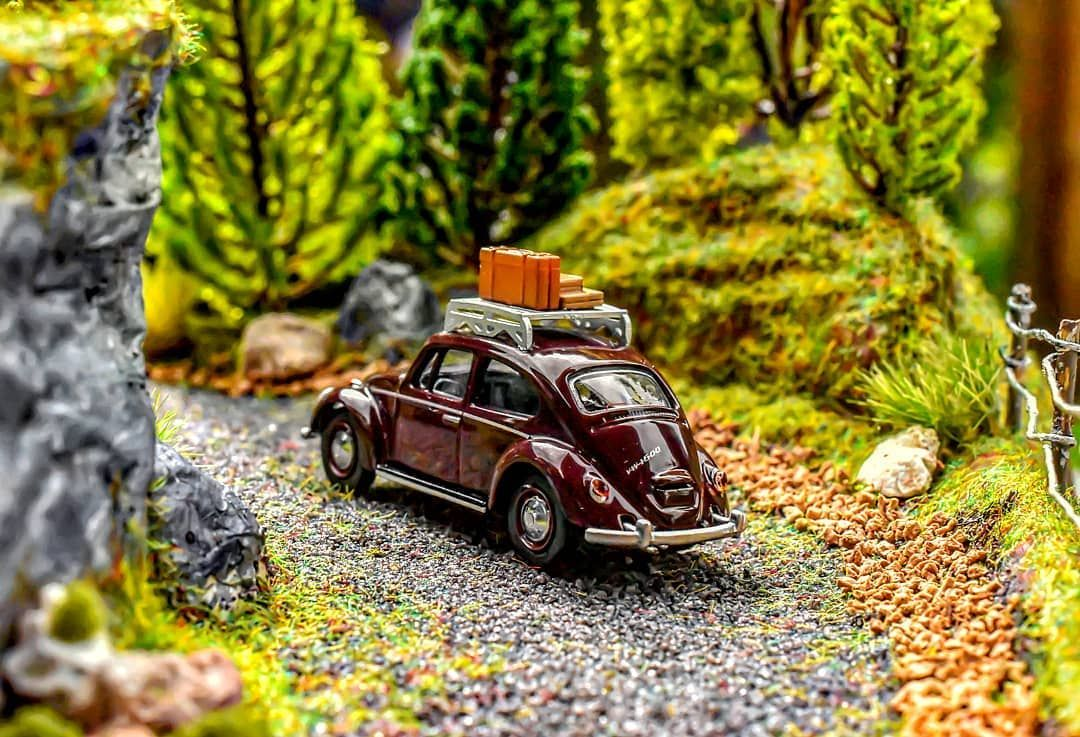 AD/Werbung Are you ready for a trip in this amazing Edition 1/64 Volkswagen Käfer
