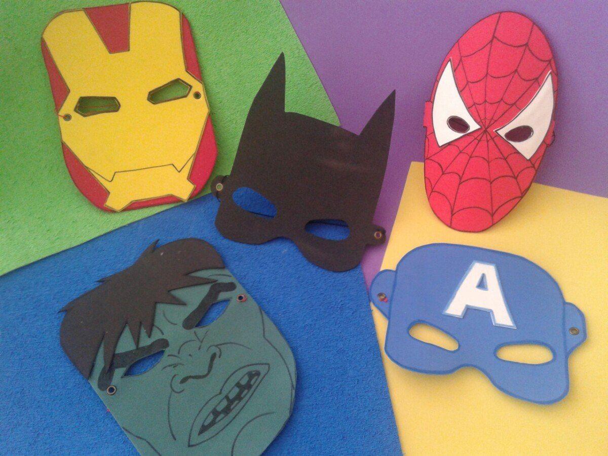 mascara iron man goma eva buscar con google disfraces