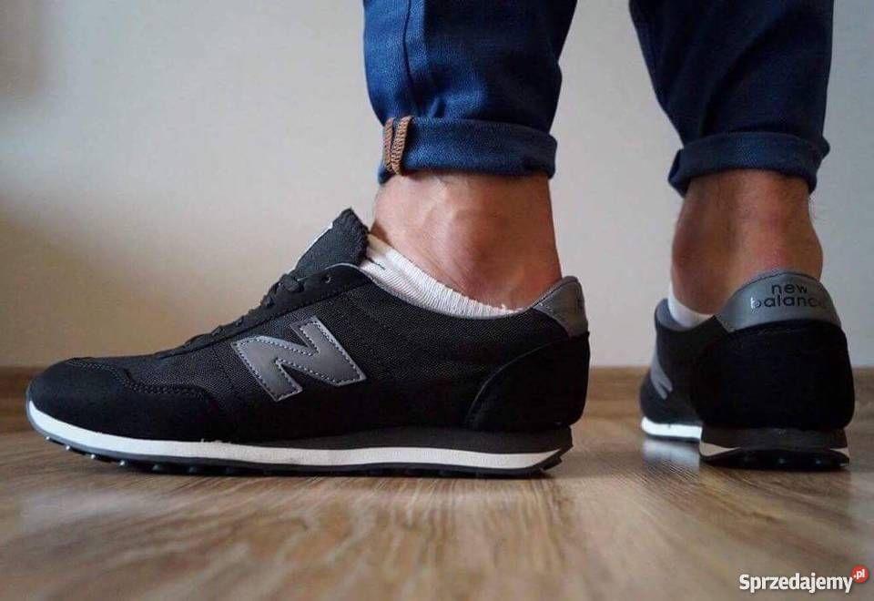 Buty Meskie New Balance 410 Czarno Szare Rozm 41 46 Sneakers Shoes New Balance Sneaker