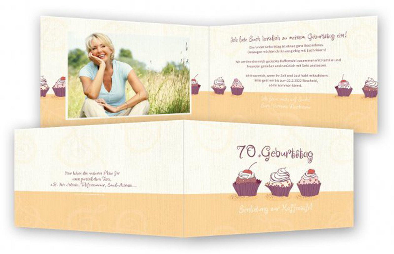 Einladungskarten Zum 70 Geburtstag Einladungskarten Zum 70