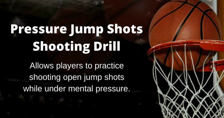 Pressure Jump Shots Shooting Drill Basketball Workouts Basketball Basketball Is Life