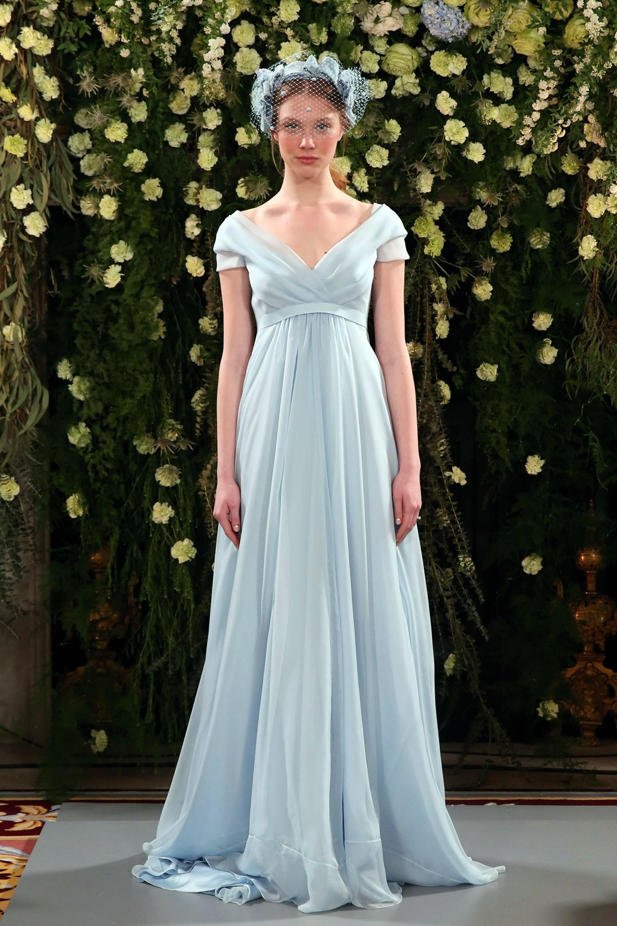 Jenny packham introduces her bridal fashion collection blue