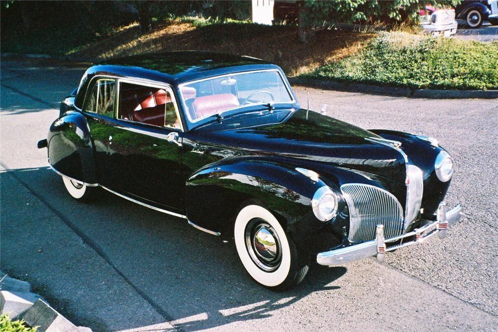 1941 LINCOLN CONTINENTAL 2 DOOR COUPE--Straight from the Godfather ...