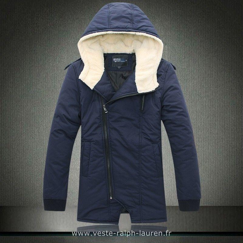 57c1fdfcf48 Polo officiel - 2013-2015 Ralph Lauren manteau hommes style mode francaise  pas cher bleu Doudoune Homme Pas Cher Ralph Lauren