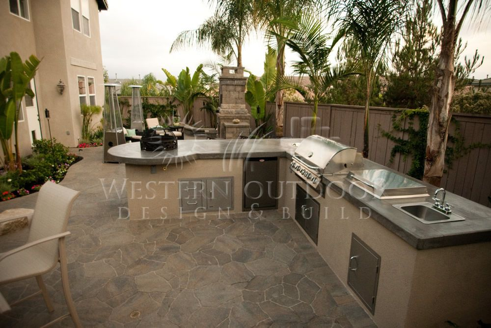 Stucco Finish Bbq Islands Outdoor Kitchens Gallery Western Outdoor Design And Build Serving San Diego Orange Riverside Counties Outdoor Kitchen Design Outdoor Kitchen Kitchen Design Plans