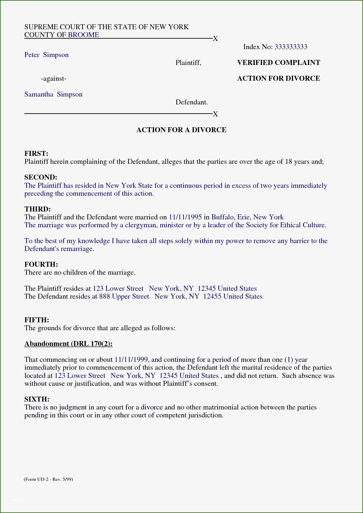 Separation Agreement Template Word 15 Tendency Of 2020 in