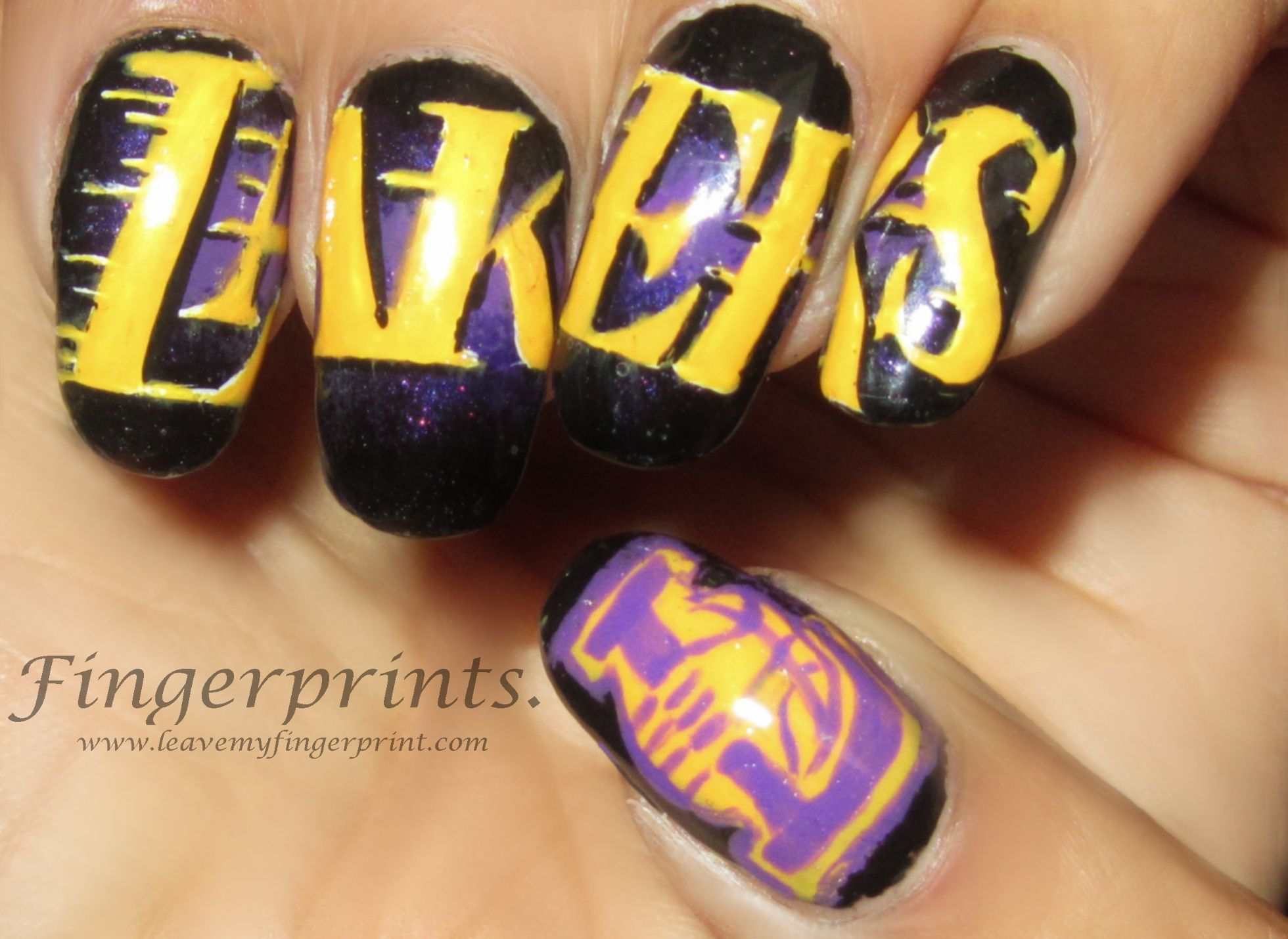 14 best Basketball Nails images on Pinterest | Basketball nails ...