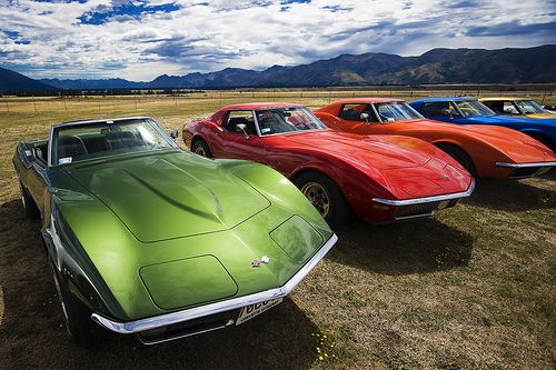 Corvettes - sweet one in every color :o)