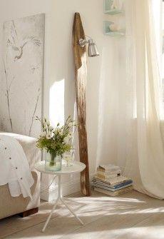 Fabriquer un lampadaire en bois flotté | Pinterest | Lampadaire en ...