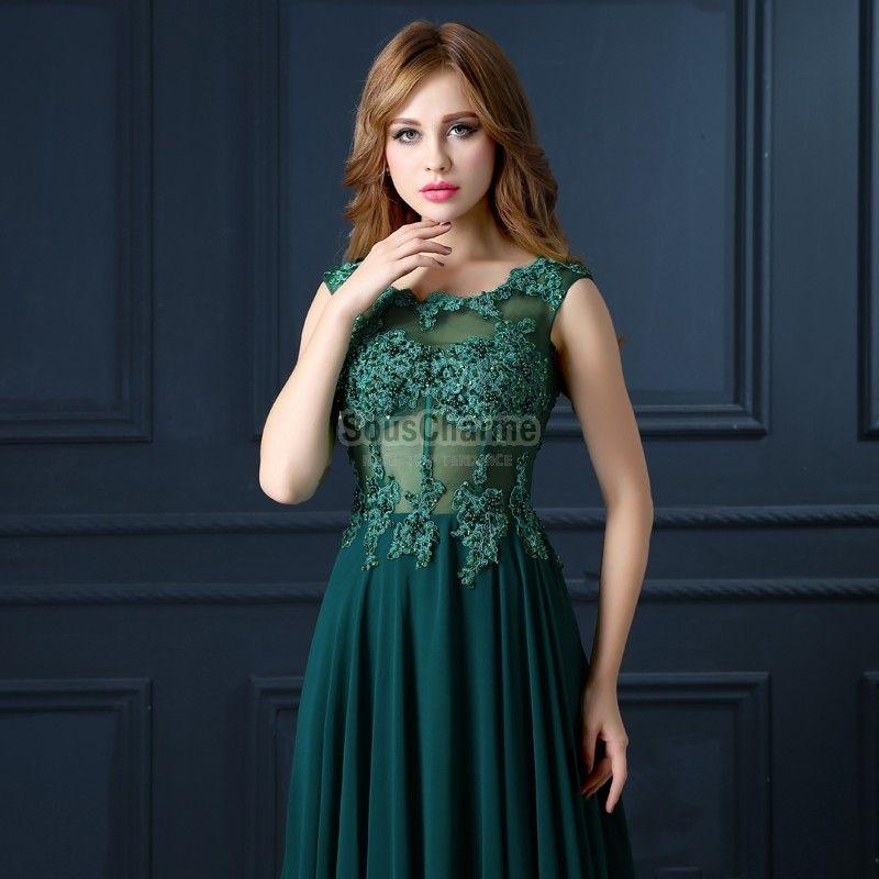 00653207fb3 Robe de soiree verte longue pas cher – Robes à la mode et populaires ...