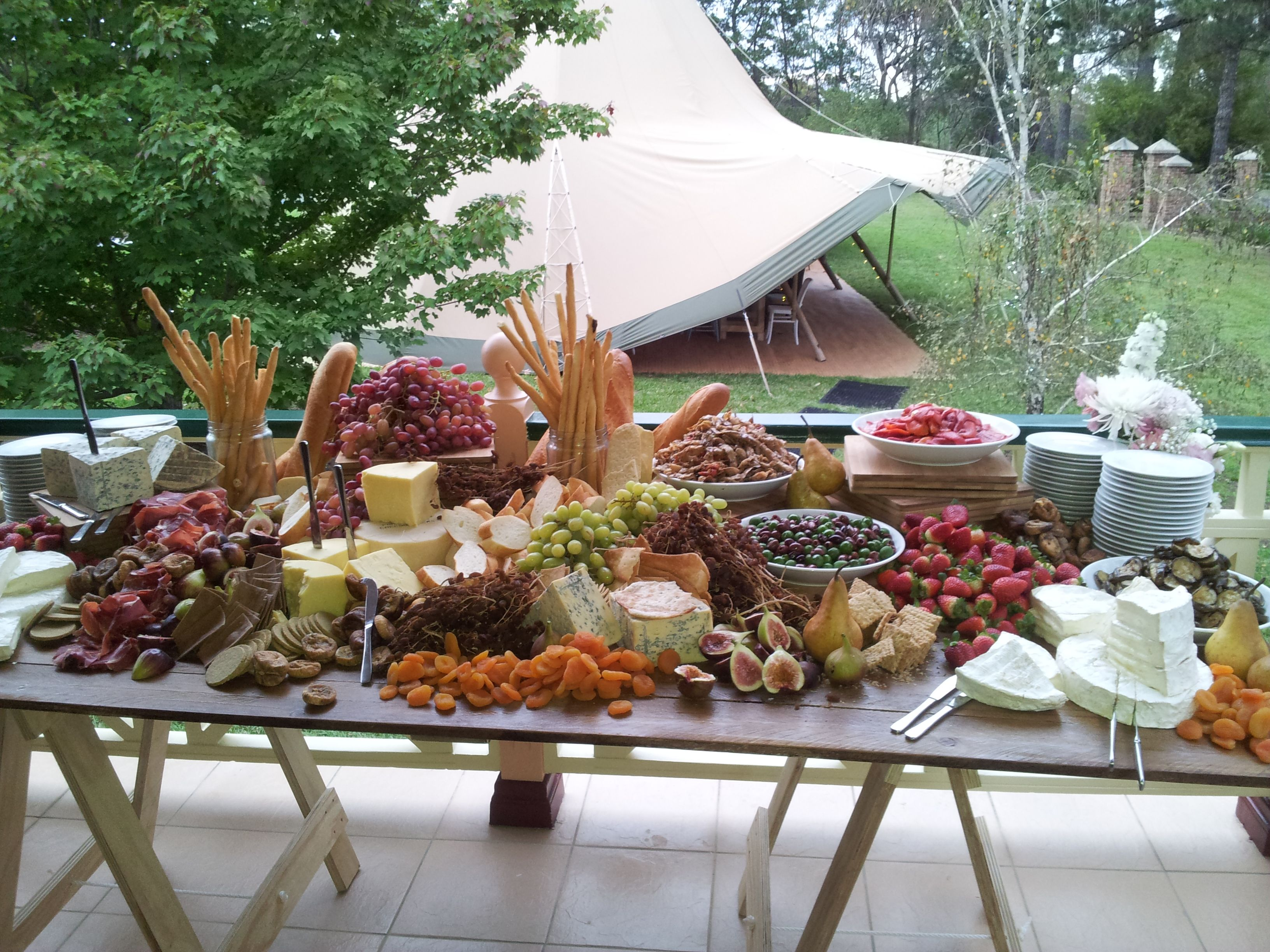 Anti Pasto grazing Station, Event catering Sydney. Cheese