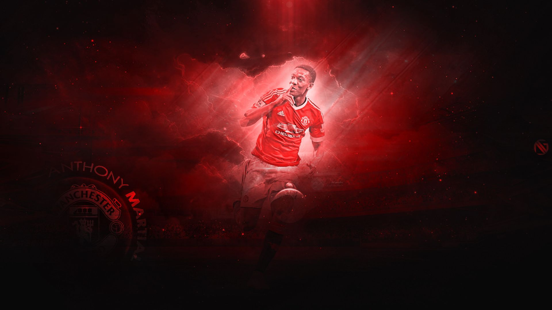Anthony Martial Manchester United Wallpaper
