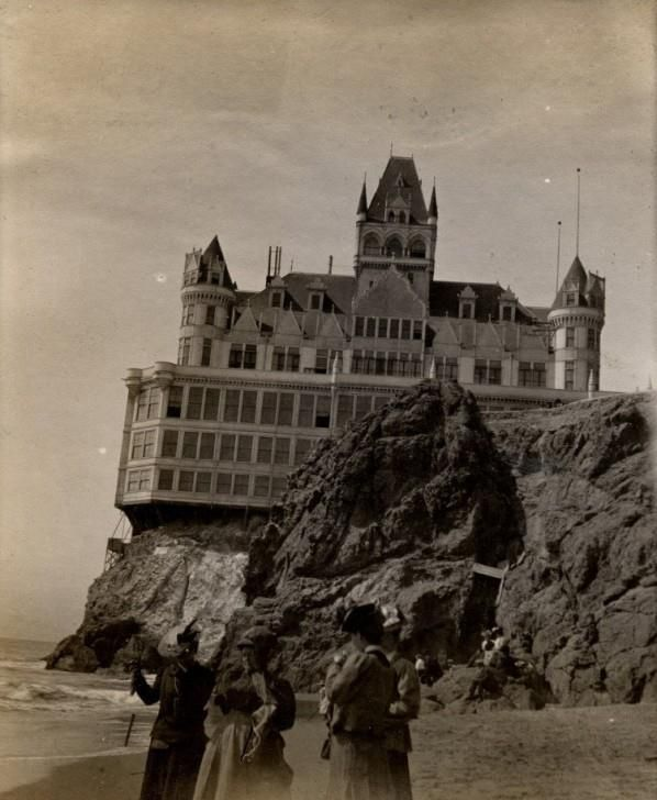 Building on a cliff architecture pinterest - Mansion victoriana ...