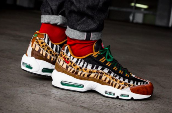 official photos 26316 edaf9 Get Ready For The atmos x Nike Air Max 95 Animal Pack 2.0 https