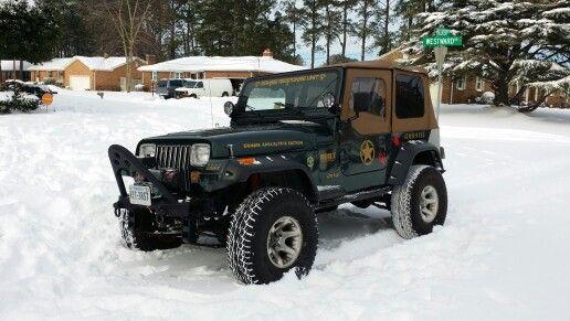 Snow Wrangler In Va Beach Jeep Yj Jeep Wrangler Yj Jeep Wrangler