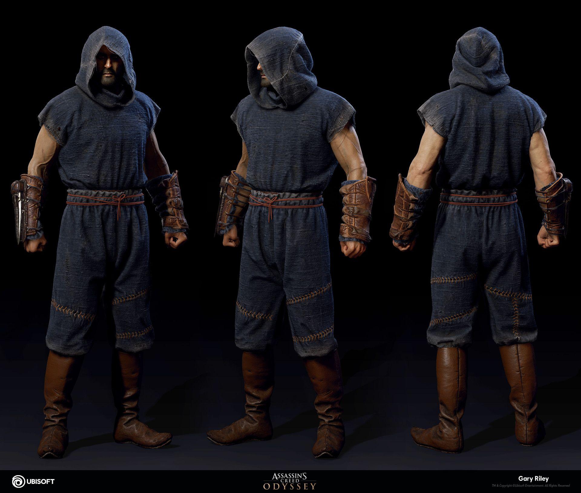 Artstation Darius Assassin S Creed Odyssey Gary Riley All