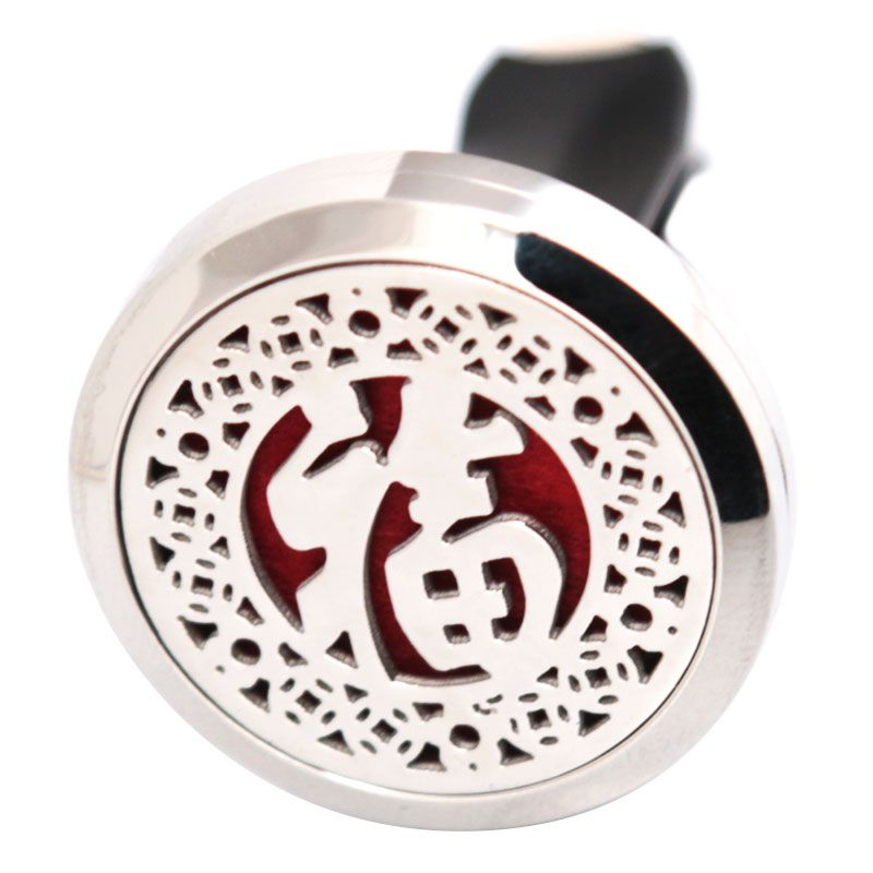 >> Click to Buy << Lucky 30mm Diffuser 316 Stainless Steel Car Aroma Locket Essential Oil Car Diffuser Locket Free 50Pcs Felt Pads #Affiliate
