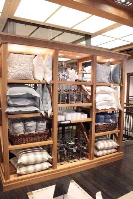 POttery Barn Sydney stores, fit-out, homewares | Product Display ...