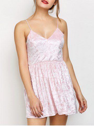 GET $50 NOW   Join RoseGal: Get YOUR $50 NOW!http://www.rosegal.com/club-dresses/velvet-criss-cross-backless-dress-982379.html?seid=1039733rg982379