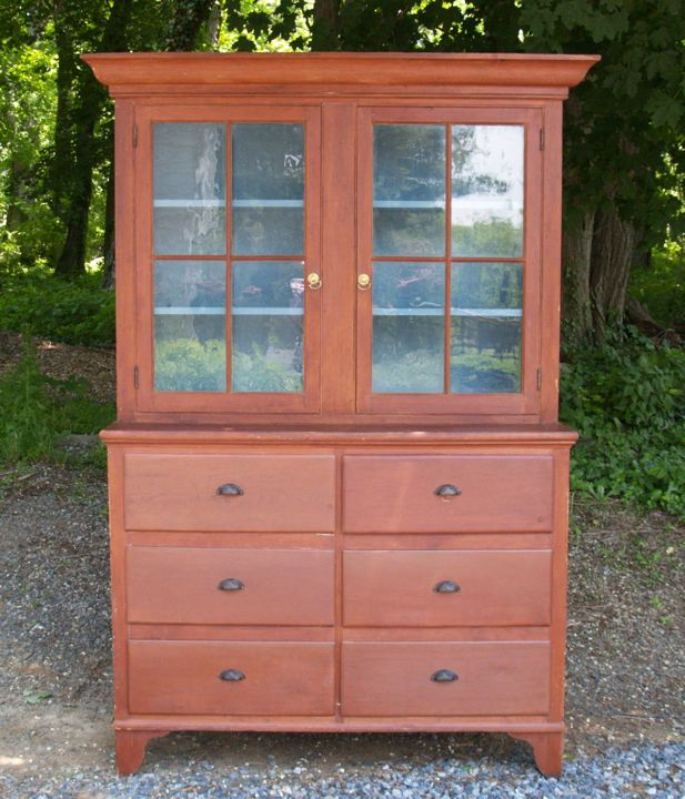 Antique Stepback Cupboard | Antique American Country Stepback Cupboard with  Drawers - David M .. - Antique Stepback Cupboard Antique American Country Stepback