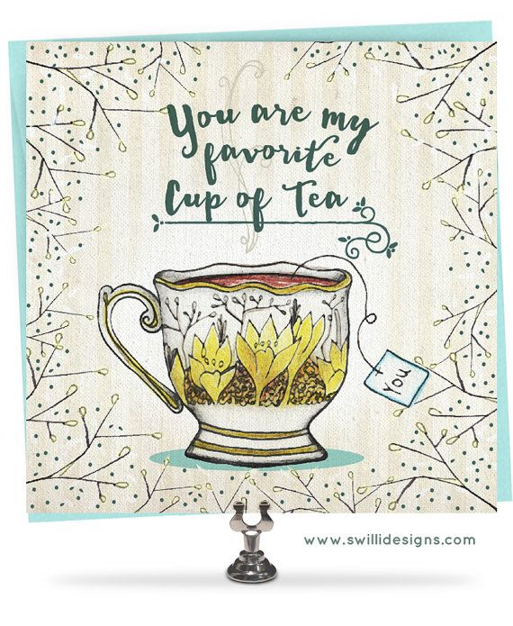 I love you, You are my favorite, Valentine, Hand lettered