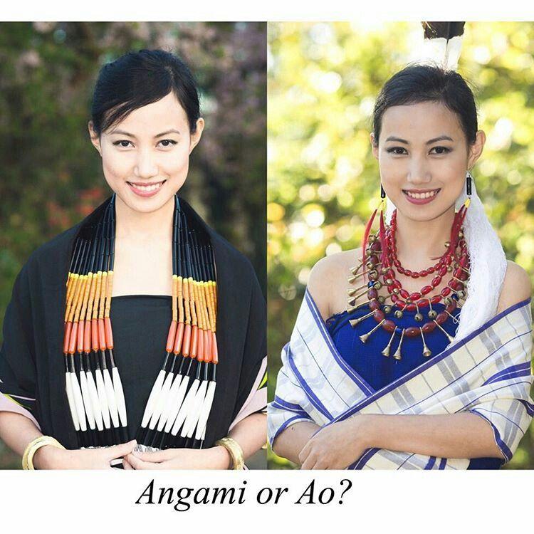 c1fe49de92 Traditional attire (Ao Naga) The Nagaland community Model( kuvelotetso)  fmkohima