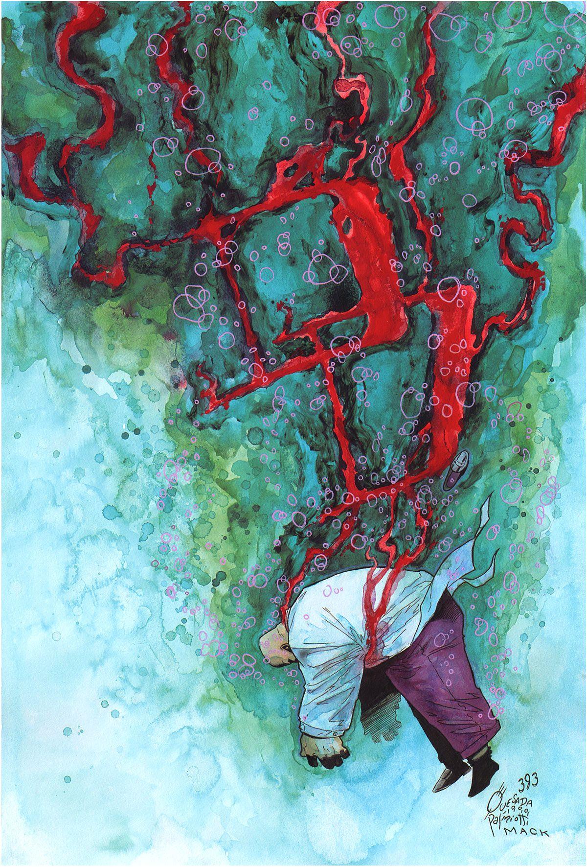 Daredevil cover by Joe Quesada & David Mack