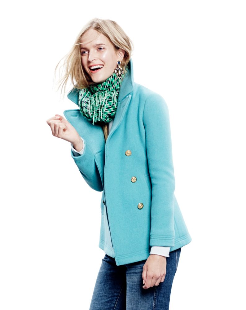 want this pea coat~