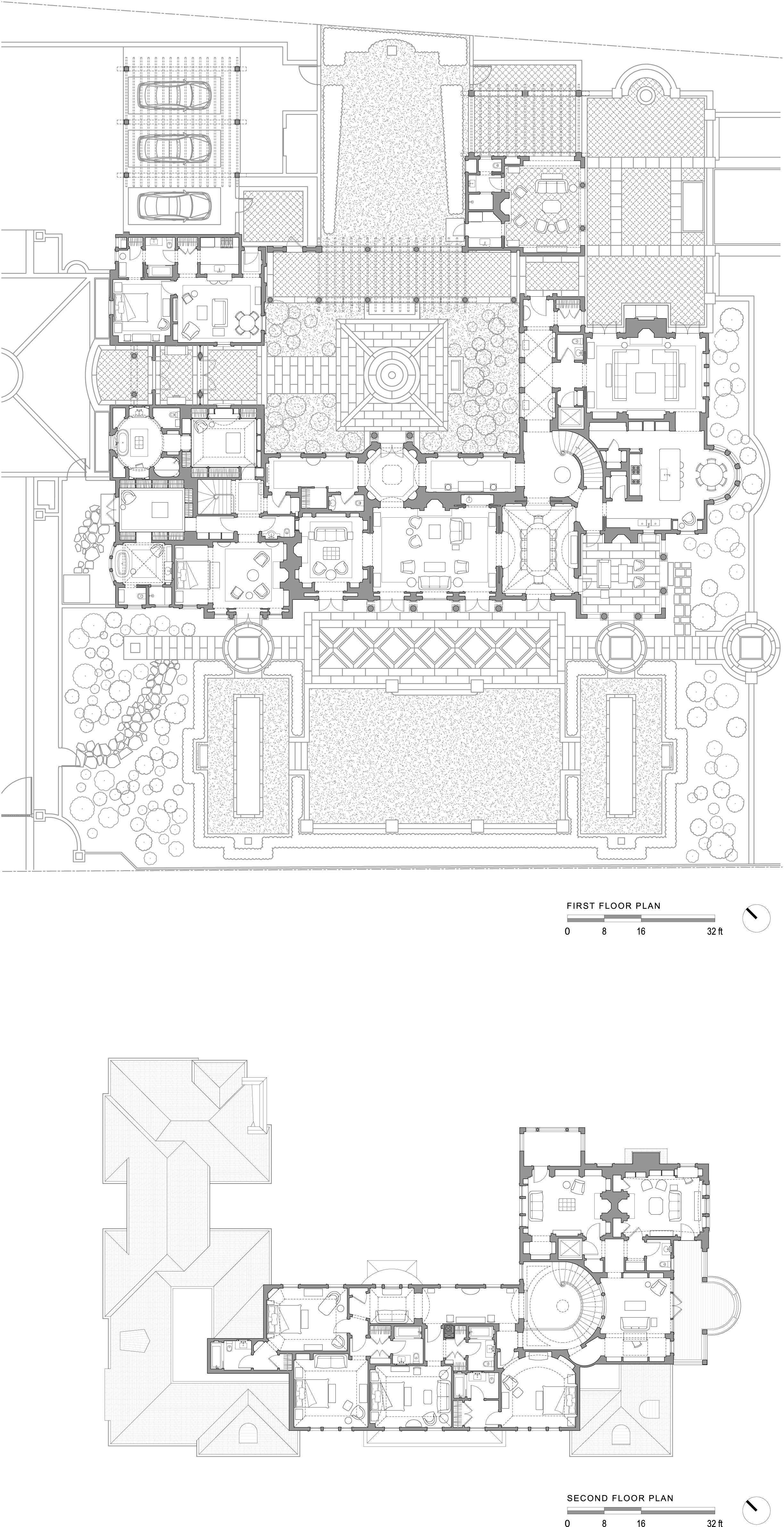 Image Result For Design For Villa With Courtyard