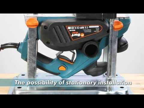 Mini Power Planer Stand / Jointer / Thicknesser - Hand Tool