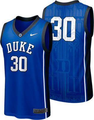 pretty nice f6ac8 e5689 Duke Blue Devils Nike Royal Basketball Jersey #bluedevils ...