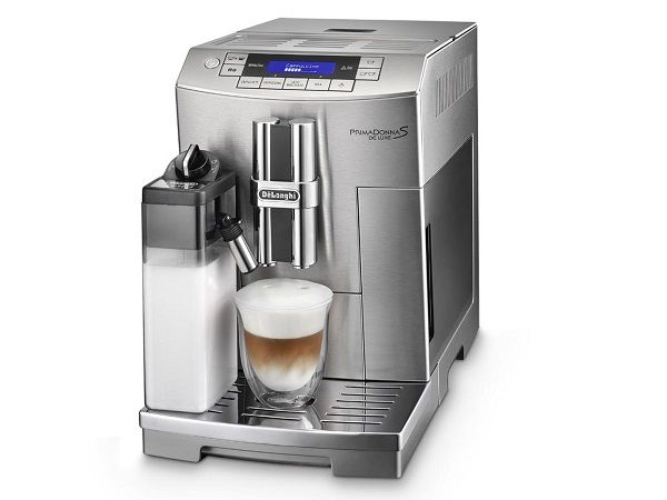Create a cappuccino, latte or macchiato with just one touch. The De'Longhi PrimaDonna S Coffee Maker is a must-have for your kitchen. Read more on the latest Luxury Portfolio LUXETRENDS® or go to delonghi.com